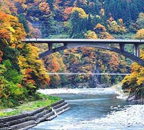 Scenery of Kurobe-shi,Toyama